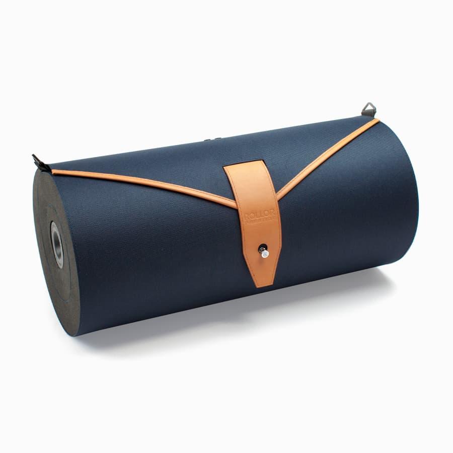 Joanna-Boothman-design-garment-bag-Rollor-Prestige-Blue-Cognac