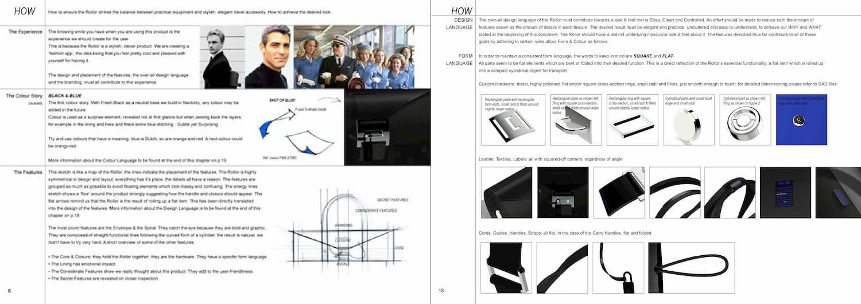 Joanna Boothman groen design Rollor Style Guide