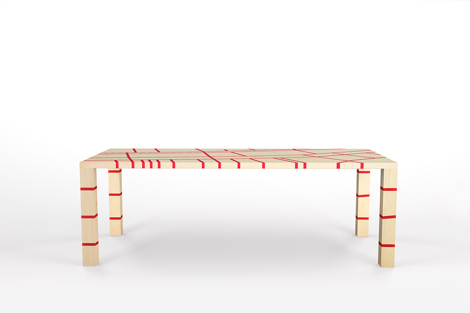 bioresin design table Amsterdam Hanno groen boothman