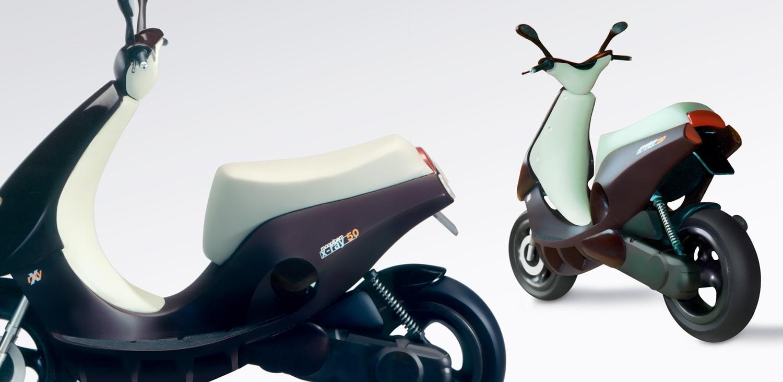 Hanno Groen Joanna Boothman Design Amsterdam Scooter concept study