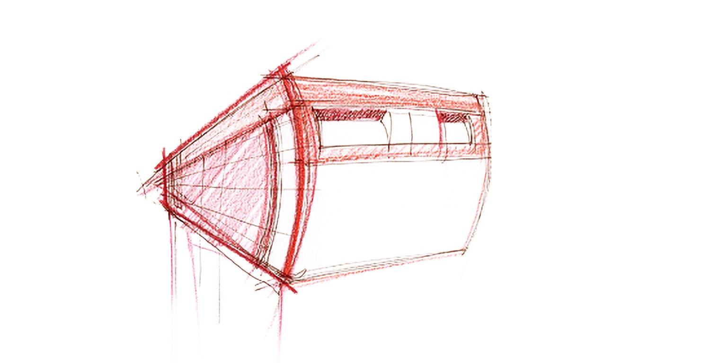 Joanna Boothman groen npk design Dutch Letter Box sketch