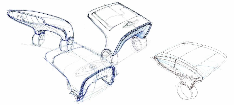 Joanna-Boothman-groen-Tacx-Bushido-VR-unit-concept-sketches