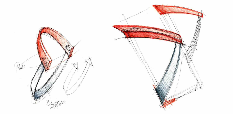 Joanna Boothman groen Tacx Uma bottle cage concept sketch