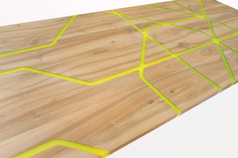 bioresin table london subwaymap hanno groen boothman design