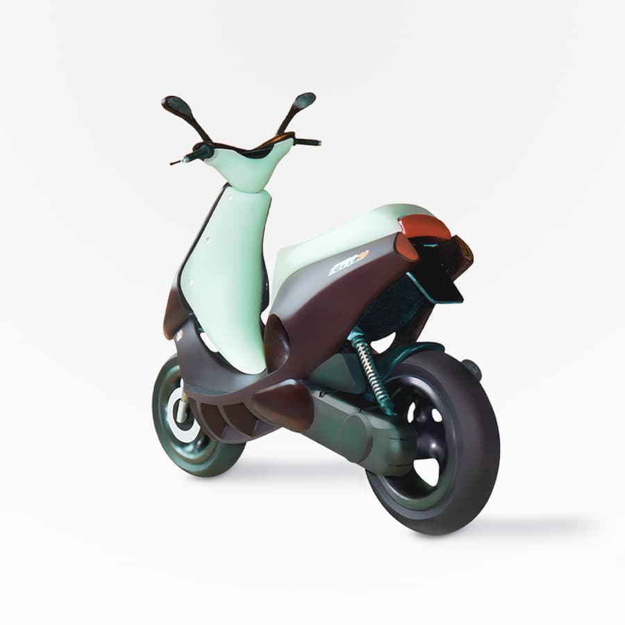 Hanno Groen Joanna Boothman Design Amsterdam Scooter concept study