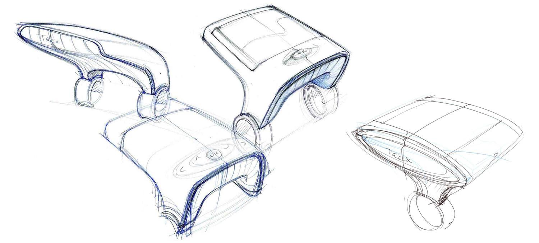 Joanna Boothman npk Design Tacx Bushido design sketch