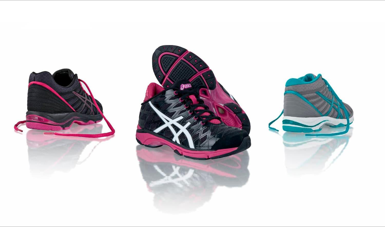 Joanna Boothman Design Asics Running Shoes