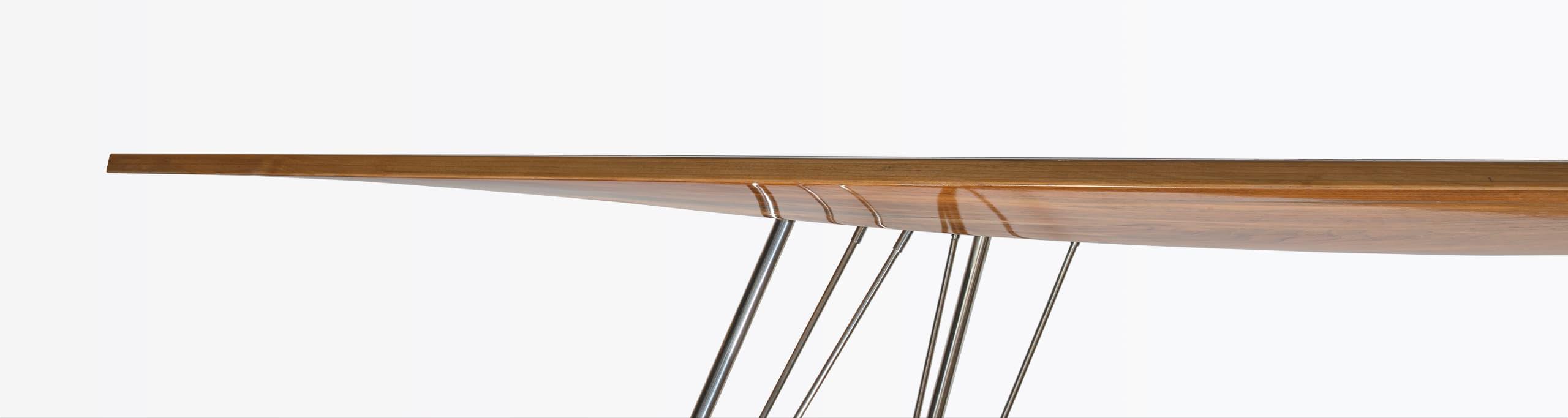 Hanno Groen Joanna Boothman Design Creative Direction Amsterdam Yacht Table inspired J-Class yachts