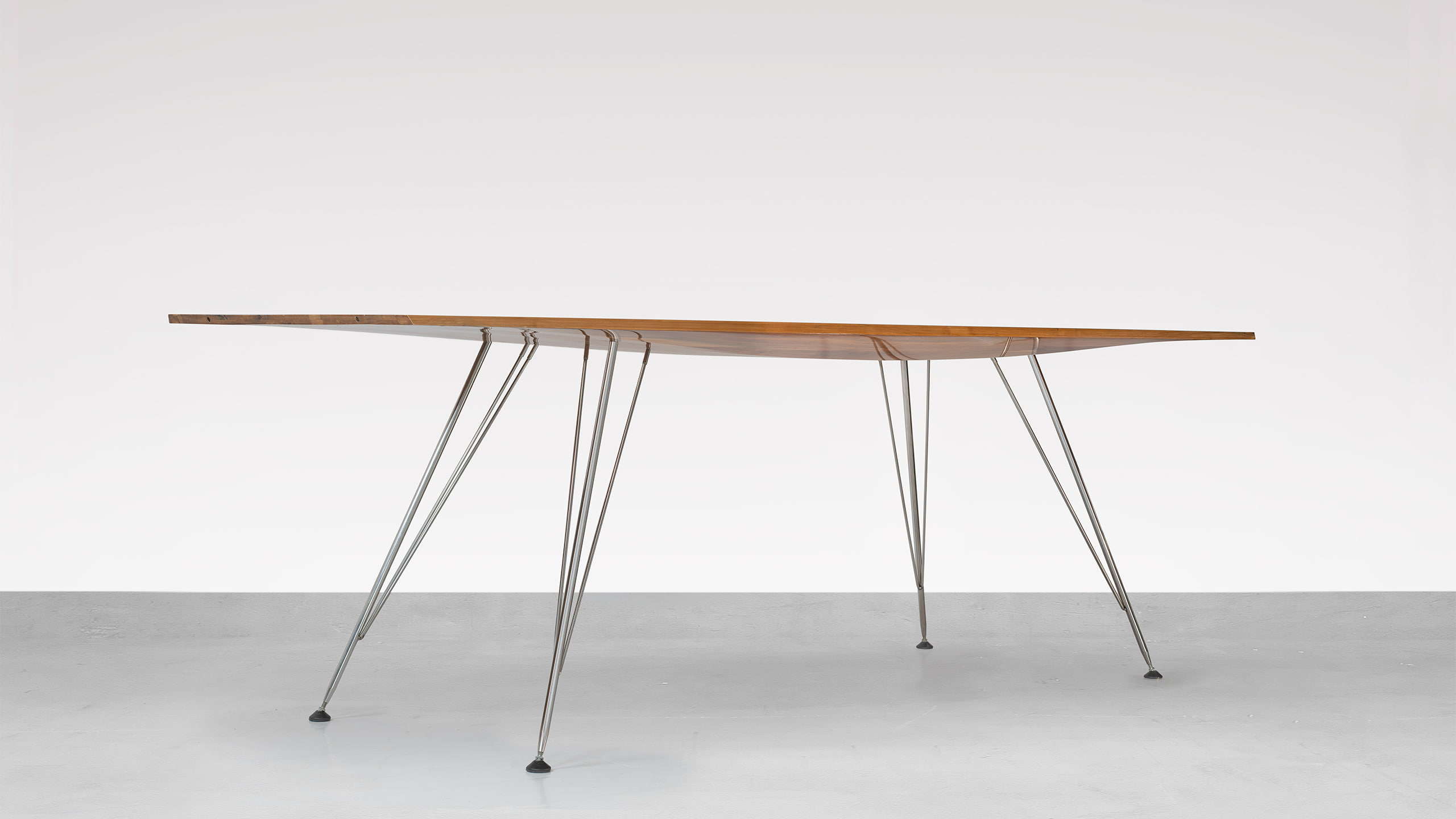 yacht office table by Hanno Groen Joanna Boothman Design Amsterdam