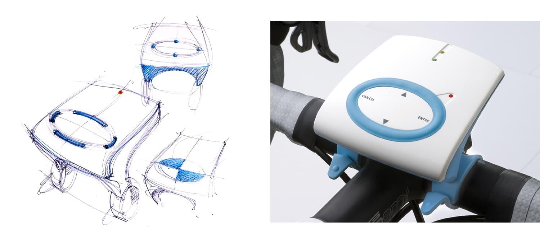 Joanna Boothman npk design Tacx Bushido VR home trainer